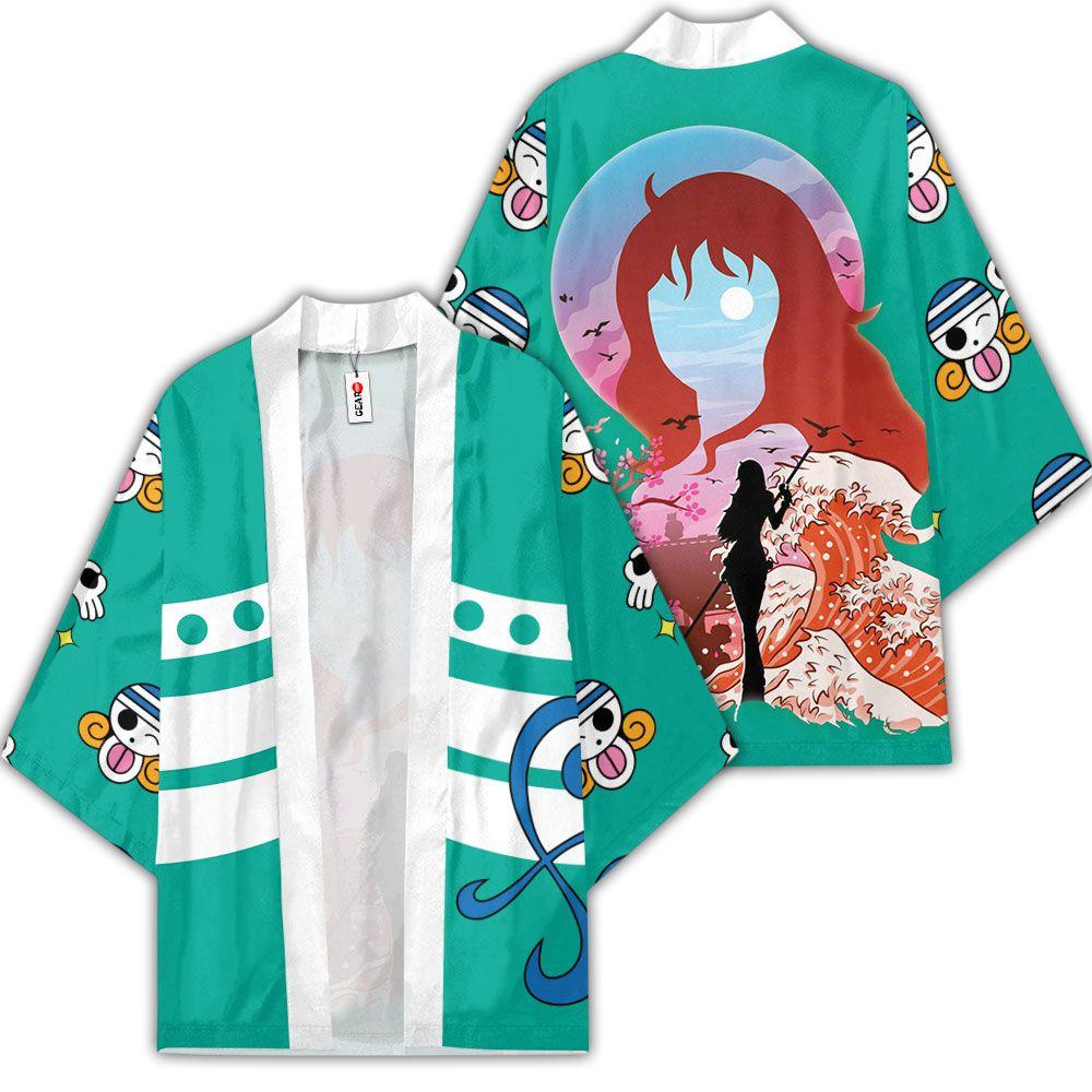 Nami Kimono Custom Anime One Piece Merch Clothes GOT1308 Unisex / S Official One Piece Merch