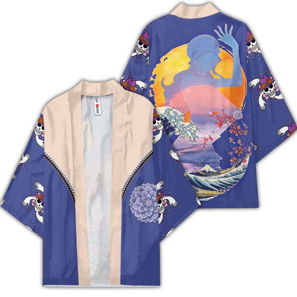 Nico Robin Kimono Custom Anime One Piece Merch Clothes GOT1308 Unisex / S Official One Piece Merch