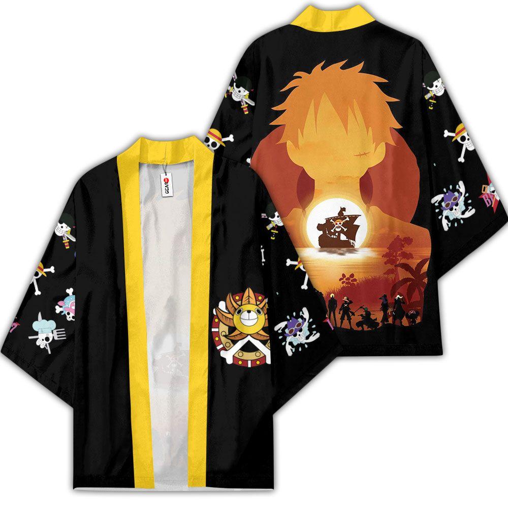 Straw Hat Pirates Kimono Anime One Piece Merch Clothes GOT1308 Unisex / S Official One Piece Merch