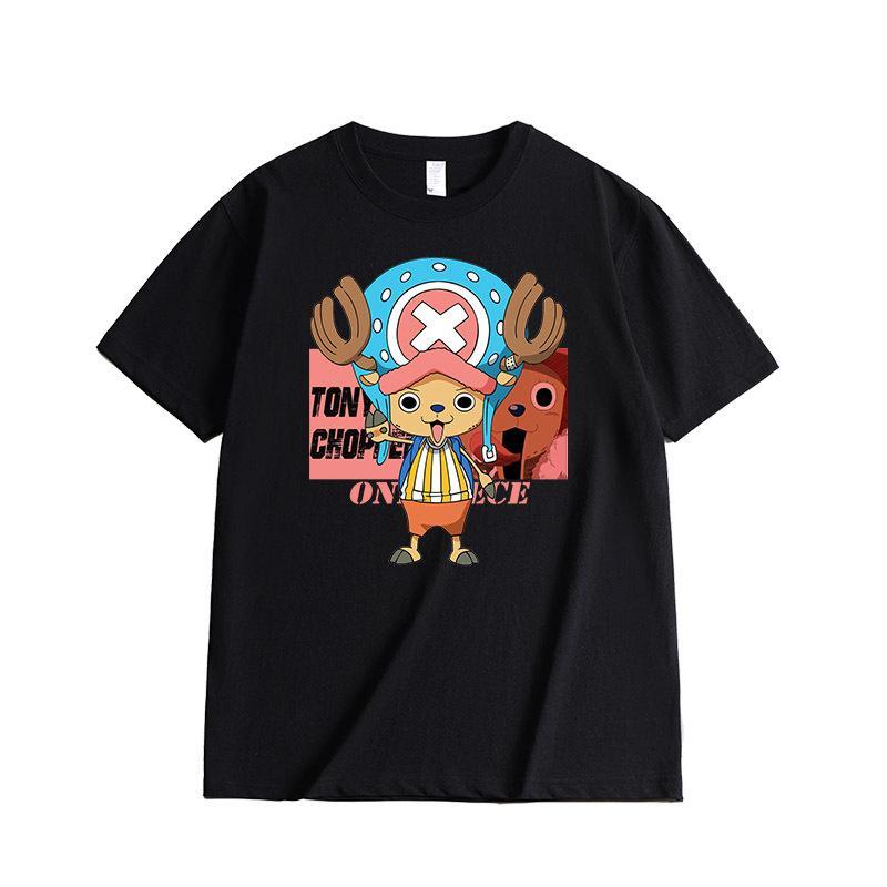 Chopper T-shirt MNK1108 Black / S Official One Piece Merch