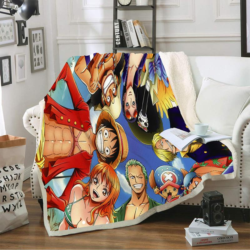 One Piece Blankets MNK1108 130 x 150 cm / Mugiwaras Official One Piece Merch