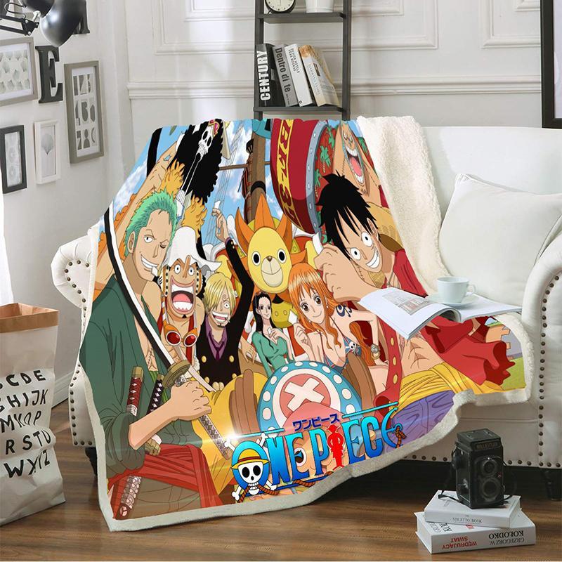 130 x 150 cm / Mugiwaras & Sunny Official One Piece Merch