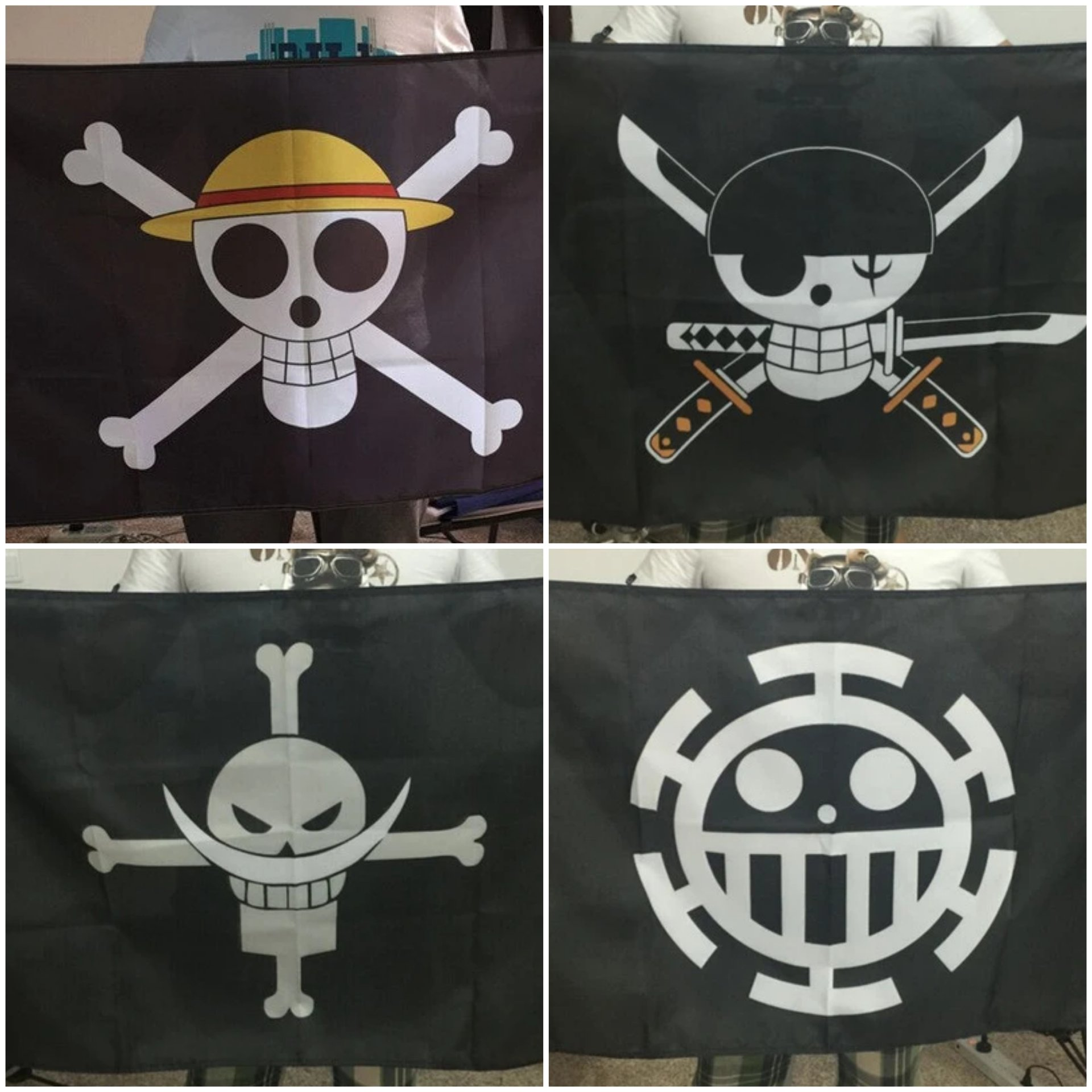 High Quality Flags MNK1108 Luffy Official One Piece Merch