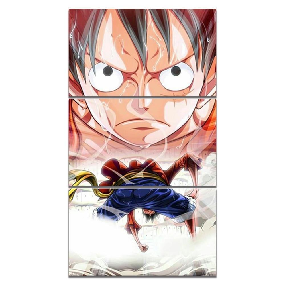 40x60cm x 3 pcs / Framed Official One Piece Merch