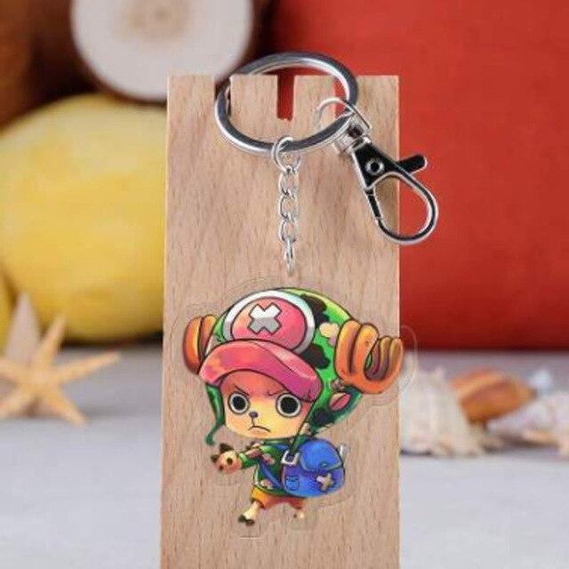 One Piece Tony Tony Chopper Keychain ANM0608 Default Title Official One Piece Merch