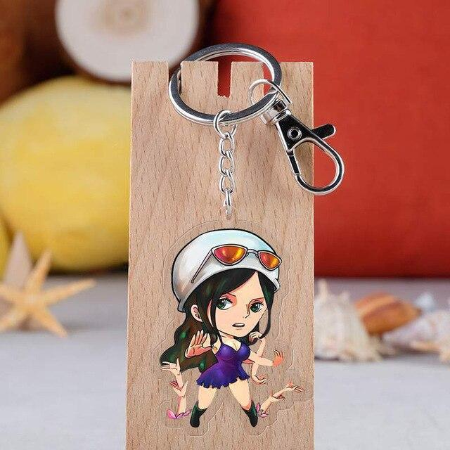 One Piece Nico Robin Keychain ANM0608 Default Title Official One Piece Merch