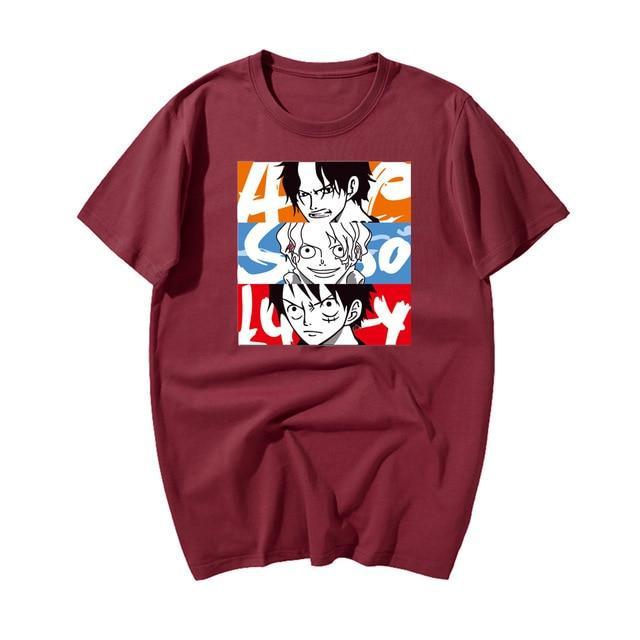 Red / XXXL Official One Piece Merch