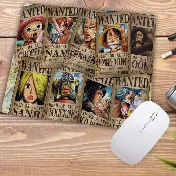 One Piece Dead or Alive Wanted Mouse Pad ANM0608 Default Title Official One Piece Merch