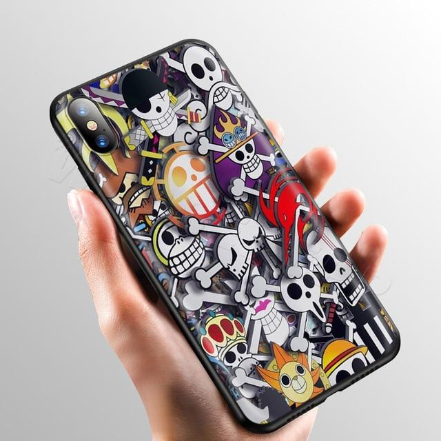 One Piece Jolly Rogers Pirates iPhone Case ANM0608 for iPhone 5 5s se Official One Piece Merch
