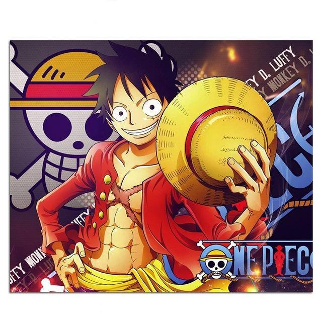 One Piece Luffy Straw Hat Mouse Pad ANM0608 Default Title Official One Piece Merch