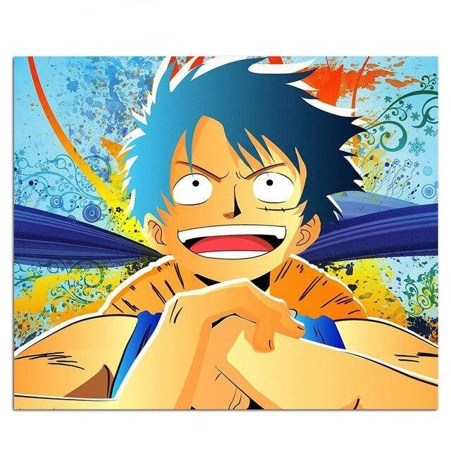 One Piece Monkey D. Luffy Painting Mouse Pad ANM0608 Default Title Official One Piece Merch