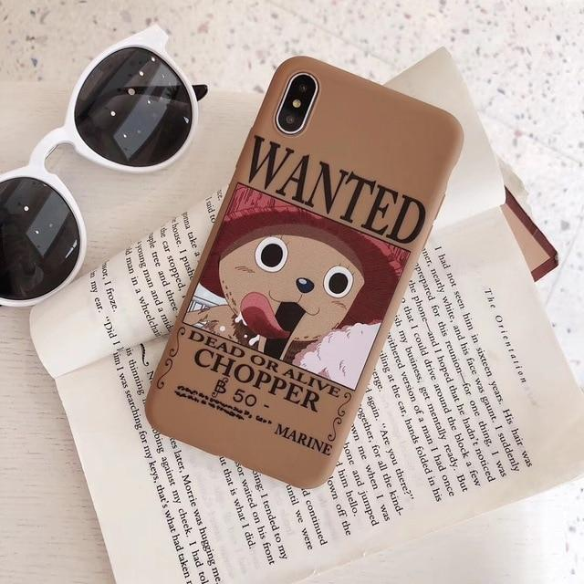 One Piece Dead or Alive Tony Tony Chopper Wanted iPhone Case ANM0608 For iPhone 6 6S Official One Piece Merch