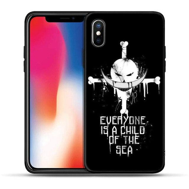 One Piece Whitebeard Everyone Is a Child Of The Sea iPhone Case ANM0608 for iPhone 5 5S SE Official One Piece Merch