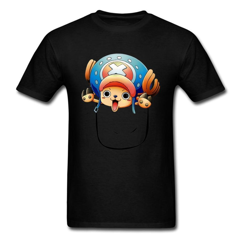 One Piece Tony Tony Chopper Kangaroo Pouch T-Shirt ANM0608 XS Official One Piece Merch
