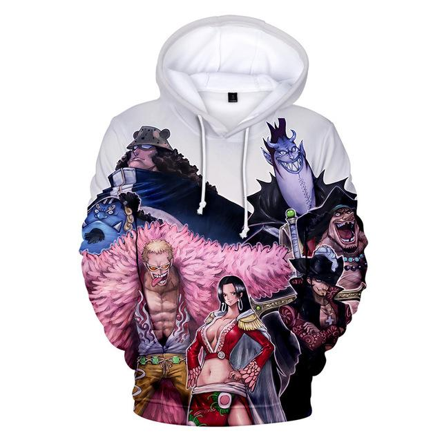 One Boa Hancock Characters Hoodie ANM0608 S / XXS Official One Piece Merch