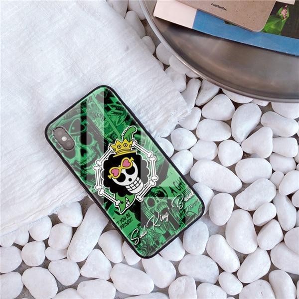 One Piece Soul King Brook Jolly Roger iPhone Case ANM0608 For iphone 5 5S SE Official One Piece Merch