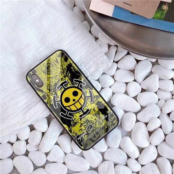 One Piece Trafalgar D. Water Law Jolly Roger iPhone Case ANM0608 For iphone 5 5S SE Official One Piece Merch