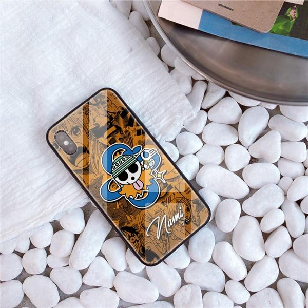One Piece Nami Jolly Roger iPhone Case ANM0608 For iphone 7 8 / 2004 Official One Piece Merch