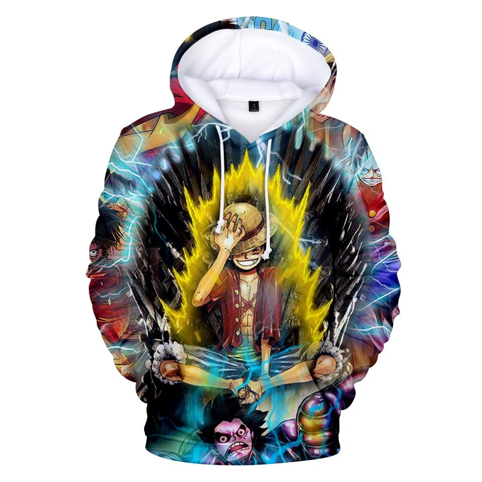 One Piece Monkey D. Luffy Energy Hoodie ANM0608 XXS Official One Piece Merch