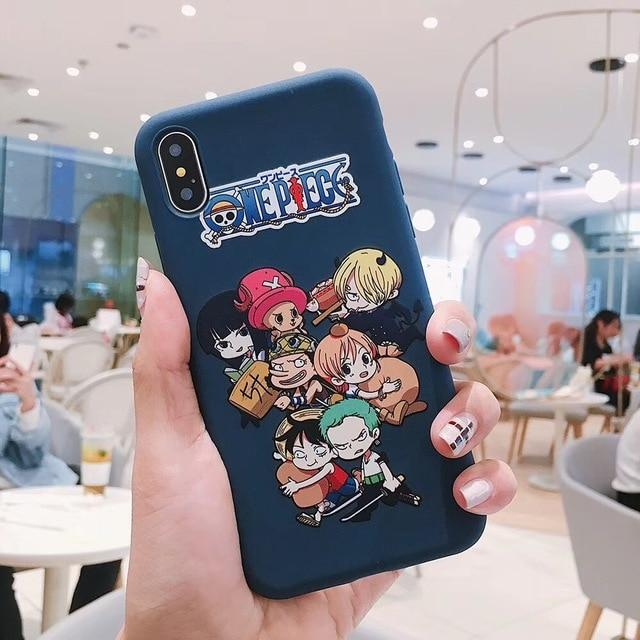 One Piece Young Straw Hat Pirates iPhone Case ANM0608 For iphone 6 6s Official One Piece Merch