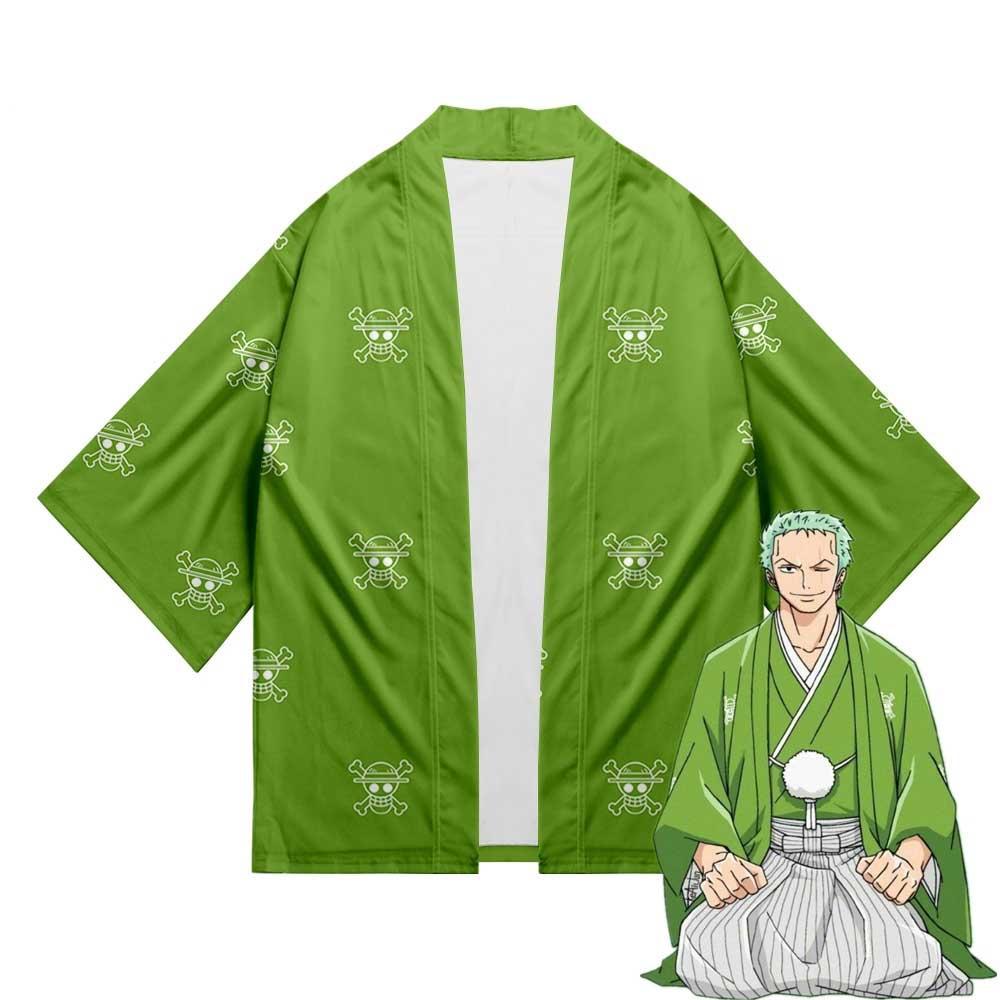 Green / S Official One Piece Merch