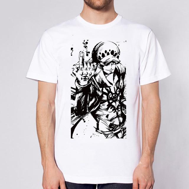 One Piece Trafalgar Law Death T-Shirt ANM0608 S Official One Piece Merch