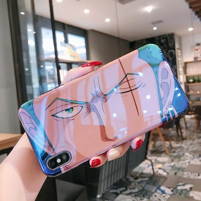 One Piece Roronoa Zoro Scar iPhone Case ANM0608 for iphone 6 6S Official One Piece Merch