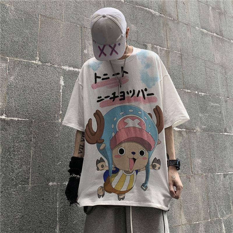 One Piece Tony Tony Chopper Streetwear T-Shirt ANM0608 S Official One Piece Merch