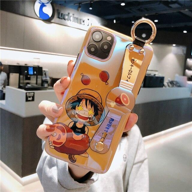 One Piece Monkey D. Luffy iPhone Case Strap Holder ANM0608 for 6 and 6s Official One Piece Merch