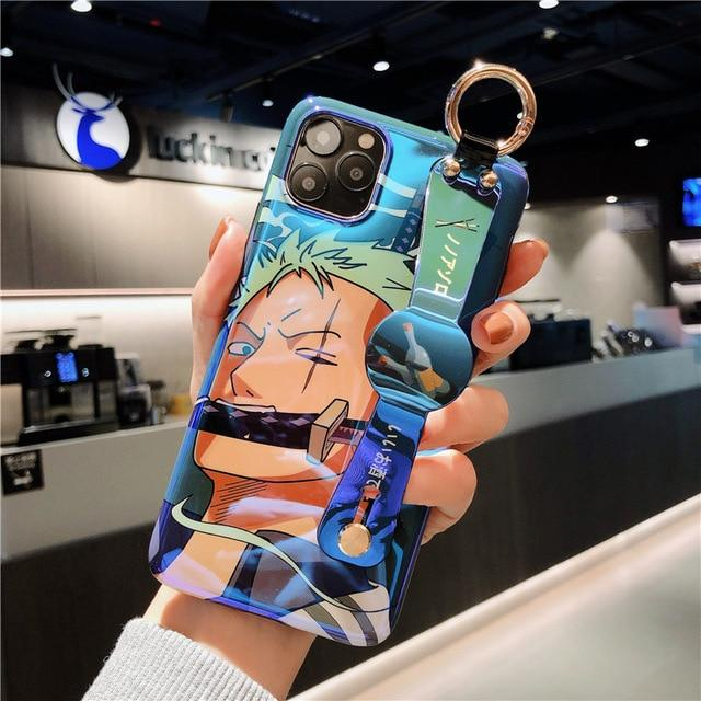 One Piece Roronoa Zoro iPhone Case Strap Holder ANM0608 for 6 and 6s Official One Piece Merch