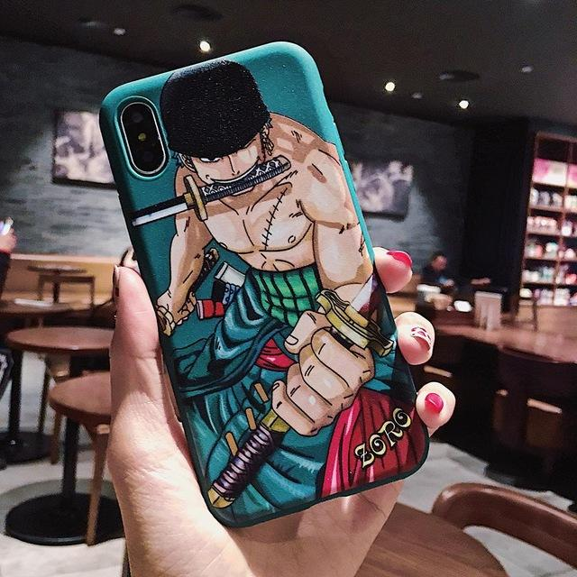One Piece Roronoa Zoro Worst Generation iPhone Case ANM0608 for iphone 6 6s Official One Piece Merch
