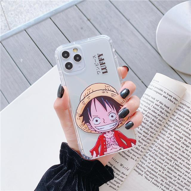 One Piece Monkey D. Luffy Transparent iPhone Case ANM0608 For iPhone 6 6S Official One Piece Merch