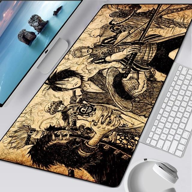 One Piece Sworn Brothers Manga Mouse Pad ANM0608 Default Title Official One Piece Merch