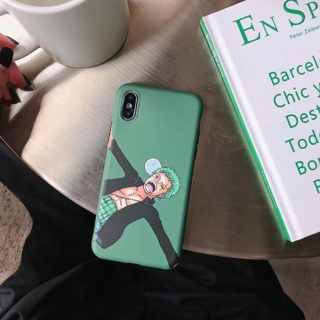 One Piece Roronoa Zoro Sleeping iPhone Case ANM0608 For iPhone 6 6S Official One Piece Merch