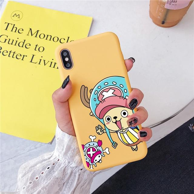 One Piece Yellow Tony Tony Chopper iPhone Case ANM0608 For iphone 6 6s Official One Piece Merch