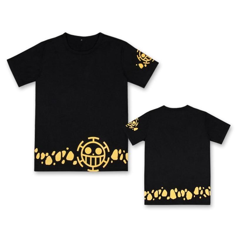 One Piece Trafalgar D. Water Law Jolly Roger T-Shirt ANM0608 M Official One Piece Merch