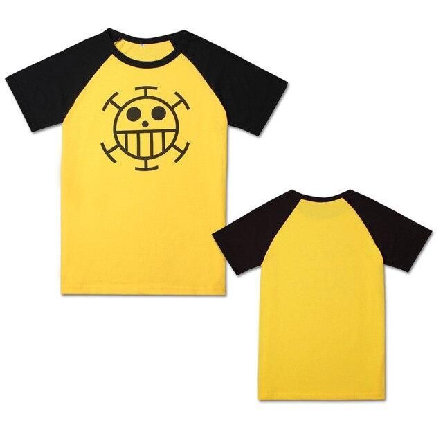 One Piece Signature Trafalgar Law T-Shirt ANM0608 9 / M Official One Piece Merch
