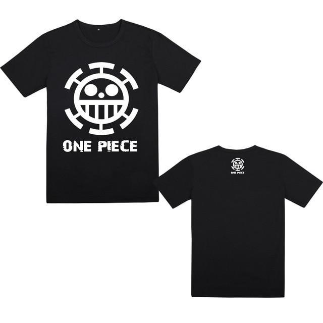 One Piece Trafalgar Law Jolly Roger T-Shirt ANM0608 M Official One Piece Merch