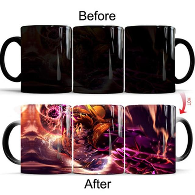 One Piece Monkey D. Luffy Gear Fourth Color Changing Mug Cup ANM0608 Default Title Official One Piece Merch