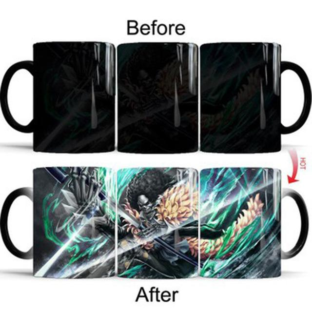 One Piece Brook Color Changing Mug Cup ANM0608 Default Title Official One Piece Merch
