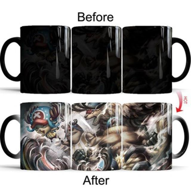 One Piece Tony Tony Chopper Devil Fruit Color Changing Mug Cup ANM0608 Default Title Official One Piece Merch