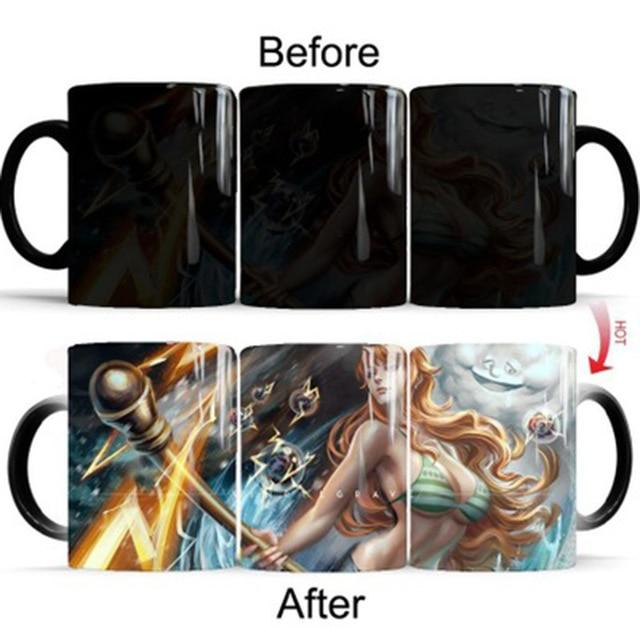 One Piece Nami Color Changing Mug Cup ANM0608 Default Title Official One Piece Merch