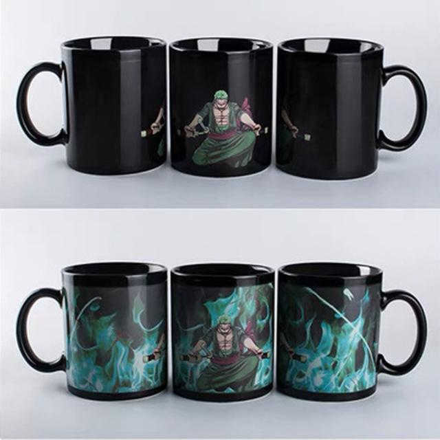One Piece Bounty Hunter Roronoa Zoro Color Changing Mug Cup ANM0608 Default Title Official One Piece Merch