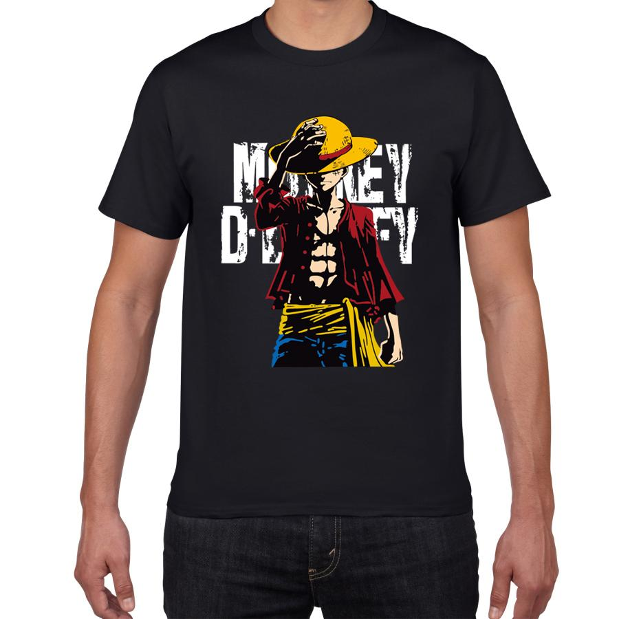 One Piece Straw Hat Monkey D. Luffy T-Shirt ANM0608 Grey / XS Official One Piece Merch