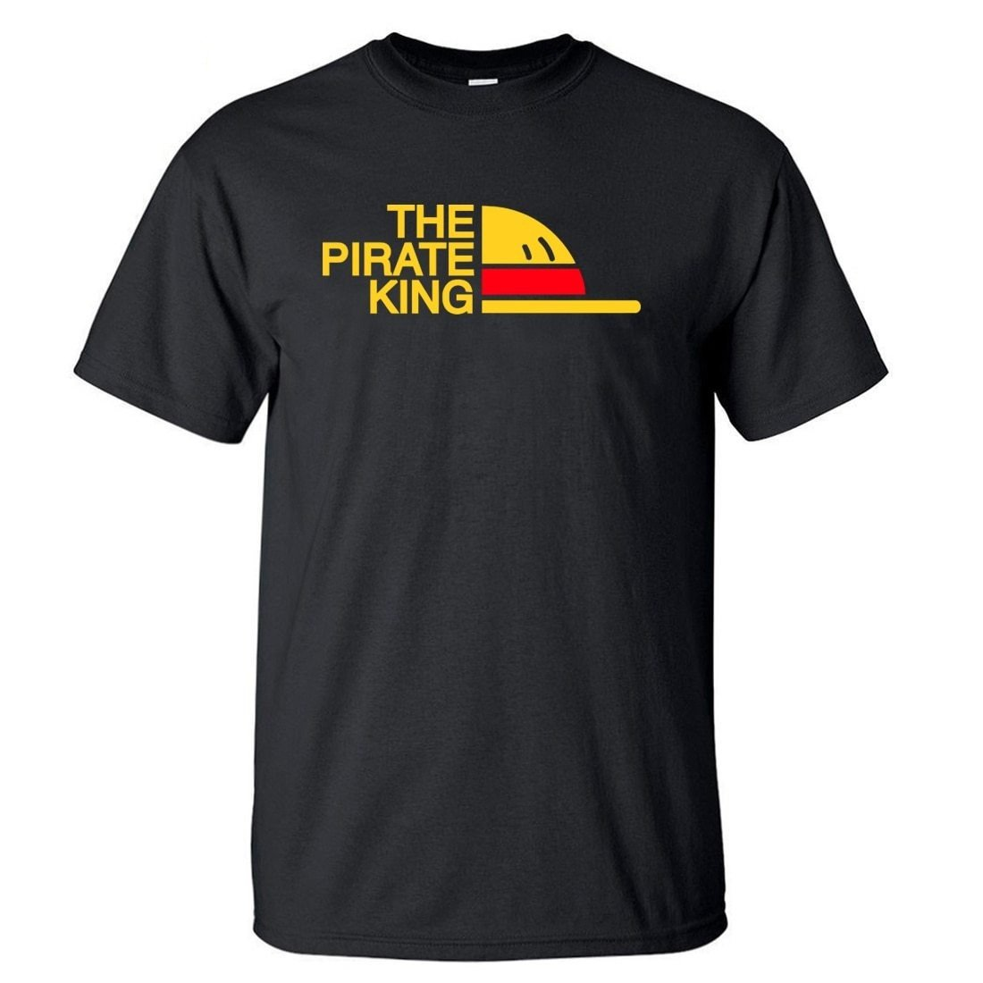 One Piece The Pirate King T-Shirt ANM0608 Burgundy / S Official One Piece Merch