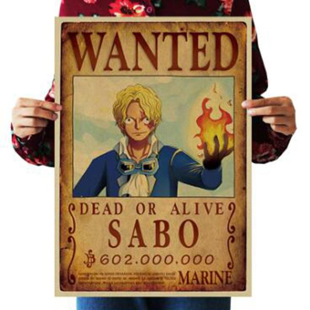 One Piece Dead or Alive Sabo Wanted Bounty Poster ANM0608 Default Title Official One Piece Merch