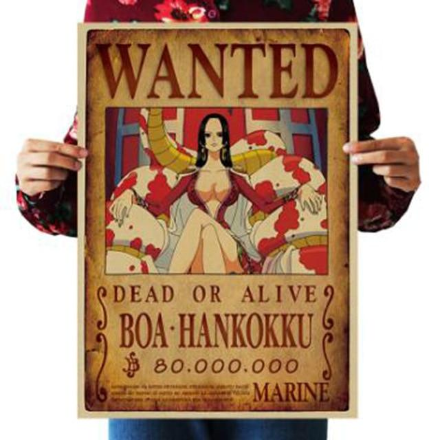 One Piece Dead or Alive Boa Hancock Wanted Bounty Poster ANM0608 Default Title Official One Piece Merch