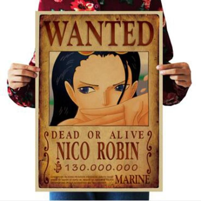 One Piece Dead or Alive Nico Robin Wanted Bounty Poster ANM0608 Default Title Official One Piece Merch