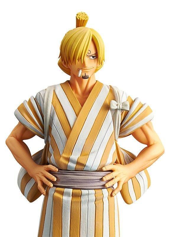 Sanji Wano Kuni - Banpresto MNK1108 Default Title Official One Piece Merch
