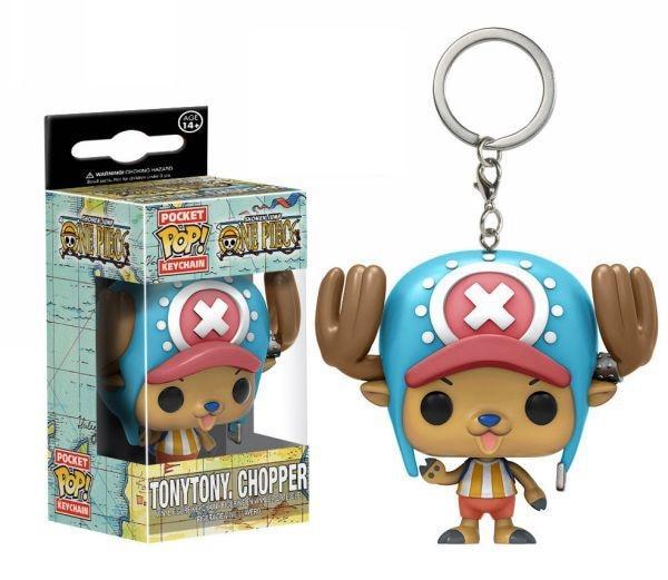 Chopper Funko Pop Keychain MNK1108 Default Title Official One Piece Merch